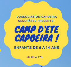 logo camp d'été capoeira