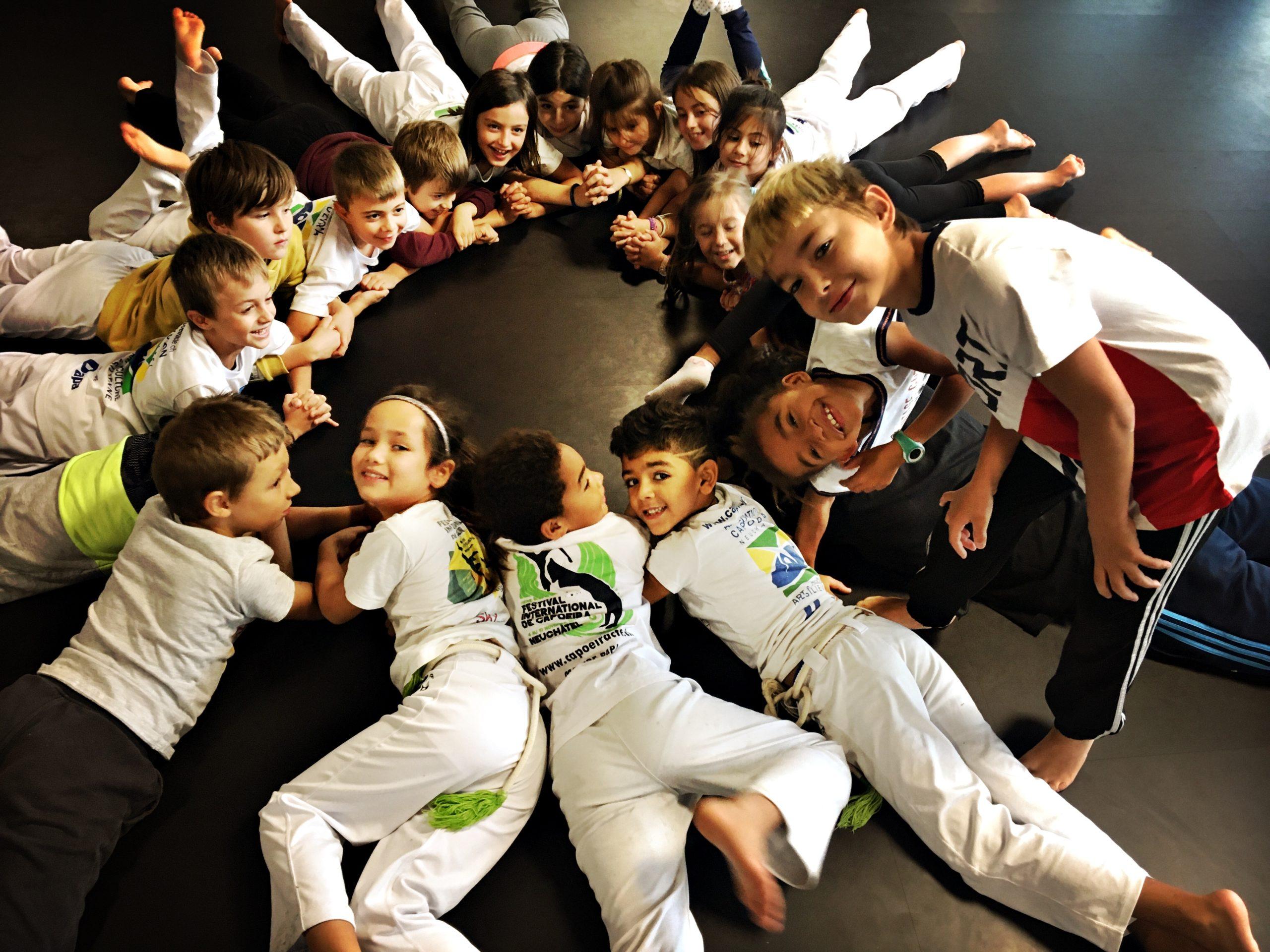Cours de capoeira enfants